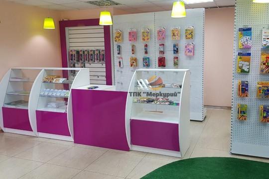 Проект детского магазина для творчества