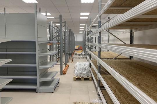 Проект строительного гипермаркета «Тележка»