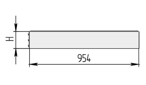 СД угловой внутренний