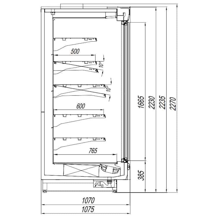 Кварц Х5 - шкаф